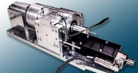 Axial-Rotations-Antriebseinheit aus einem dynamischen Lenkwellenprüfstand